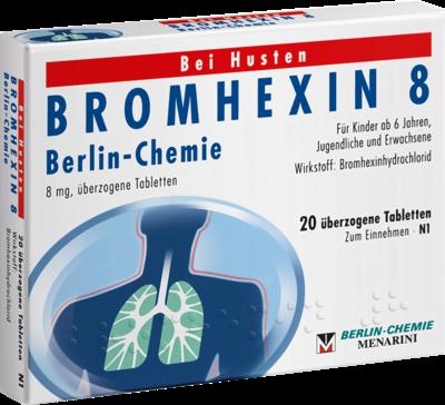 BROMHEXIN 8 Berlin-Chemie