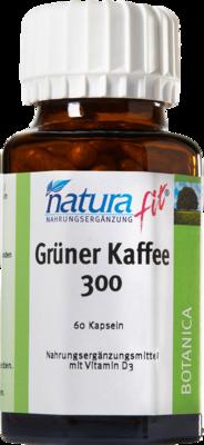 NATURAFIT grüner Kaffee 300 Extrakt Kapseln