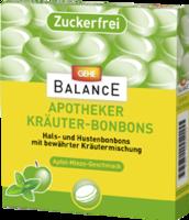 GEHE BALANCE Apotheker Kräuterbonb.Apfel-Minze zf.