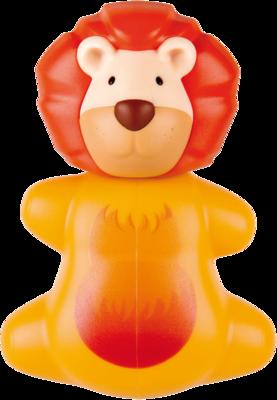 MIRADENT Kinderzahnbürstenhalter Funny Löwe