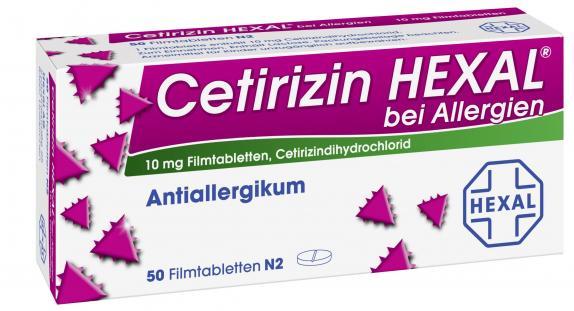Ceterizin HEXAl bei Allergien
