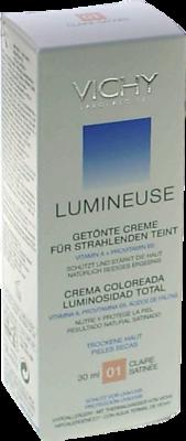 VICHY LUMINEUSE Satinee clair f.trockene Haut Cr.