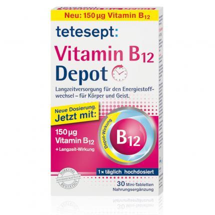 Tetesept Vitamin B12 Depot 150 µg Filmtabletten