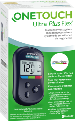 ONE TOUCH Ultra Plus Flex Blutzuckermesssys.mg/dl