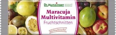 DR.MUNZINGER Maracuja Multivitamin-Fruchtschnitte