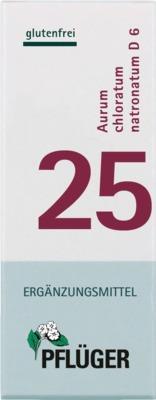 BIOCHEMIE Pflüger 25 Aurum chloratum natronatum D 6 Tabletten