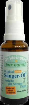 SÄNGER-ÖL Dr.Weihofen pur natur Sprühflasche