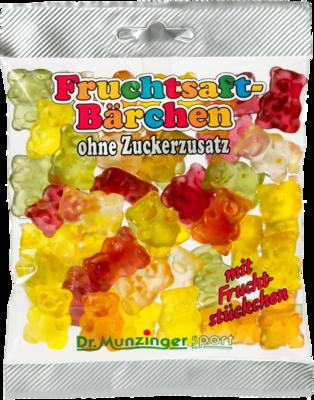 DR.MUNZINGER Fruchtsaftbärchen ohne Zucker