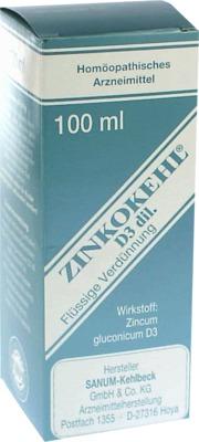 ZINKOKEHL Tropfen D 3