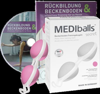 MEDIBALLS secret rose-weiß mit DVD