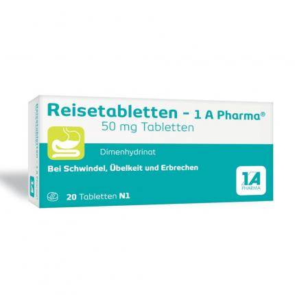 Reisetabletten-1A Pharma