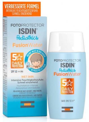 Fotoprotector ISDIN® Pediatrics Fusion Water LSF 50