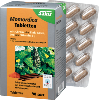 MOMORDICA DIABETIKER Tabletten mit Zimt