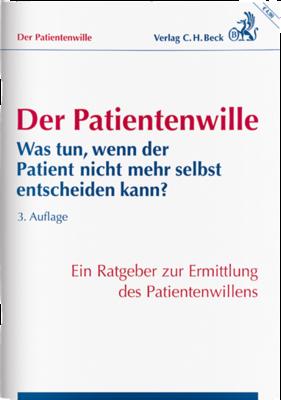 BECK Verlag Der Patientenwille Broschüre