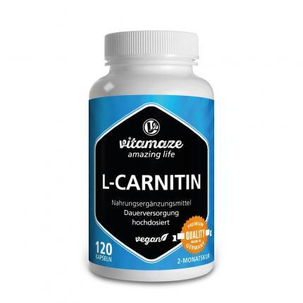 L-carnitin 680 mg Vegan Kapseln
