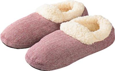 WARMIES Slippies Comfort Größe 37-41 rot
