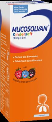 Mucosolvan Kindersaft 30mg/5ml