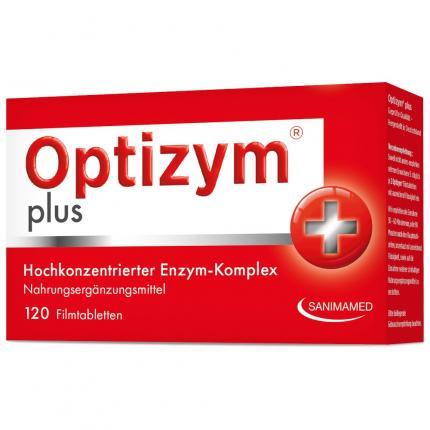 Optizym Hochkonzentrierter Enzym-komplex Filmtabl.