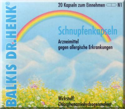 Balkis Dr. Henk Schnupfenkapseln Neu
