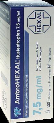 AmbroHEXAL Hustentropfen 7,5mg/ml