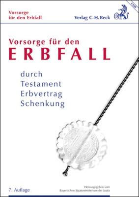 BECK Verlag Erbfall Broschüre