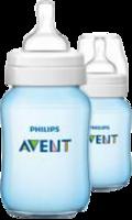 AVENT Klassik+ Flasche 260 ml 2er Pack blau