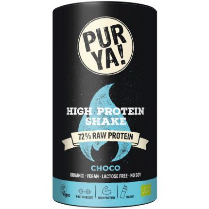 Purya High Protein Shake Choco Bio Pulver