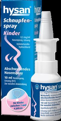 HYSAN Schnupfenspray Kinder 0,5mg/ml