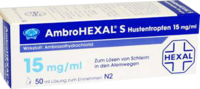 AmbroHEXAL S Hustentropfen 15mg/ml