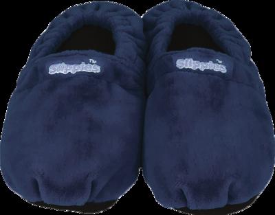 WARMIES Slippies Schuhe Classic Gr.41-45 dunkelbl.