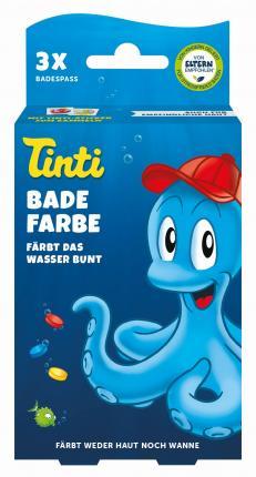 TINTI Badefarbe 3er Pack DisplaySchale