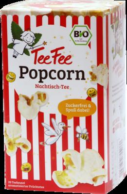 TEEFEE Teebeutel Popcorn zuckerfrei