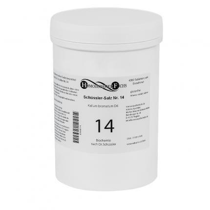 HOMOEOPATHIEFUCHS Schüssler-Salz Nummer 14 Kalium Bromatum D6 Biochemie