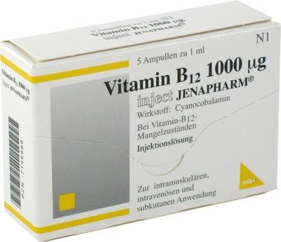 VITAMIN B12 1.000 µg Inject Jenapharm Ampullen