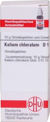 KALIUM CHLORATUM D 12 Globuli