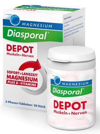 MAGNESIUM Diasporal DEPOT Muskeln + Nerven