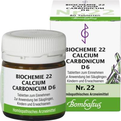 BIOCHEMIE 22 Calcium carbonicum D 6 Tabletten