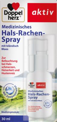 DOPPELHERZ medizinisches Hals-Rachen-Spray