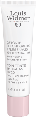 WIDMER Feuchtigkeitspfl.getönt UV20 CC naturel LP