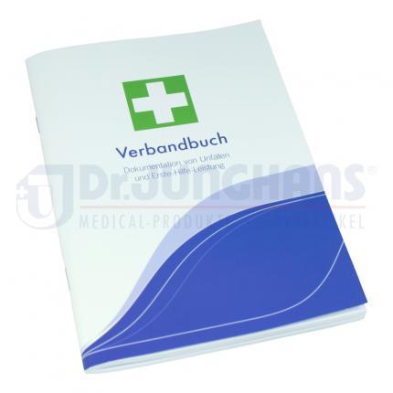 ERSTE HILFE Verbandbuch A5 50 Blatt