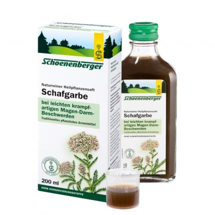 Schafgarbe naturreiner Heilpflanzensaft Schoenenberger