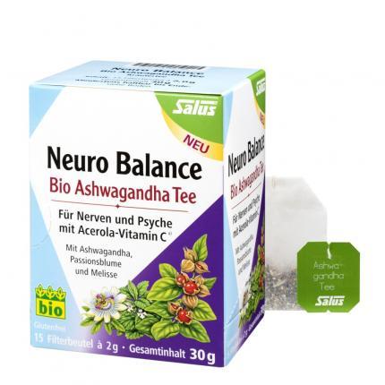 Neuro Balance Bio Ashwagandha Tee Salus Filterbeutel