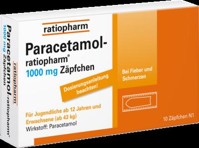 Paracetamol-ratiopharm 1000mg