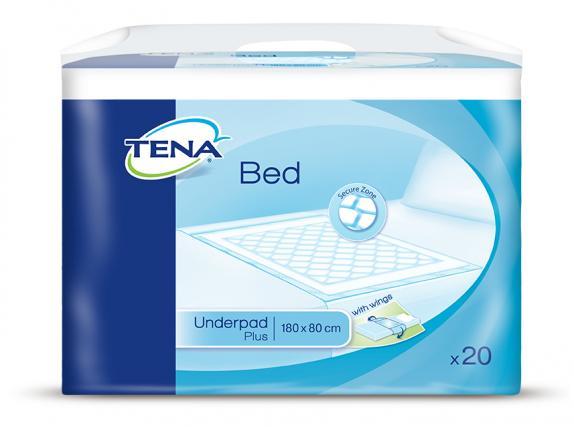 TENA Bed Unterlage Plus wings 180x80cm