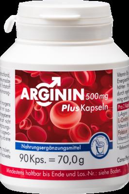Arginin 500 Mg Plus Kapseln