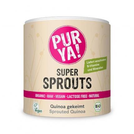 Purya Super Sprouts Bio Quinoa Gekeimt Pulver