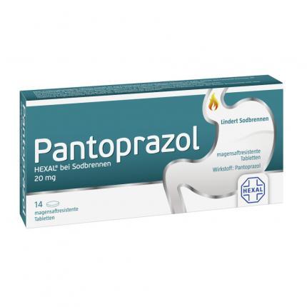 Pantoprazol HEXAL 20mg