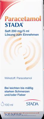 Paracetamol STADA 200mg/5ml