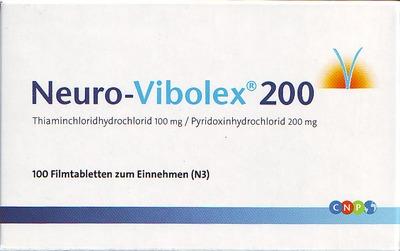 NEURO VIBOLEX 200 Filmtabletten