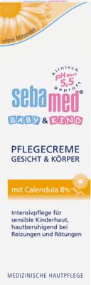 SEBAMED BABY & KIND Pflegecreme m.Calendula